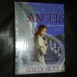Saint and angel Oracle cards